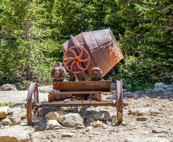 mixer on Wheeler Trail near Breckenridge