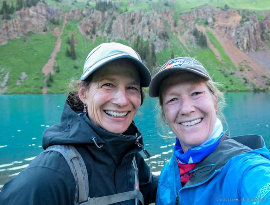 Tina and I at Blue Lakes
