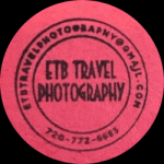 ETB Travel Photography Logo