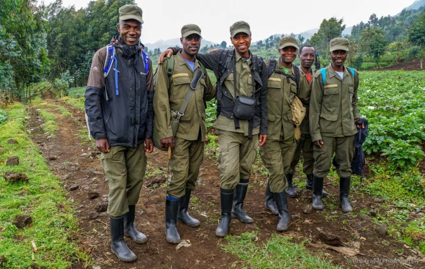 porters for gorilla trekking in Rwanda
