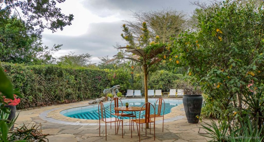 pool at Macushla House in Nairobi