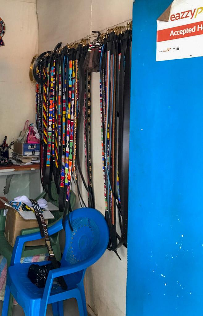 Evelyn's shop in Nairobi