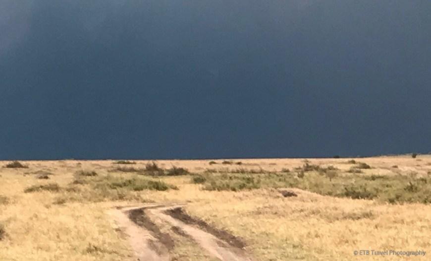 dark skies in the Masai Mara
