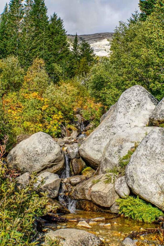 creek on Silver Lake Trail