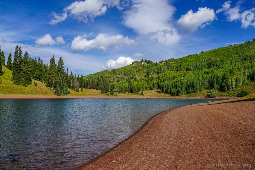 Desolation Lake in Big Cottonwood Canyon