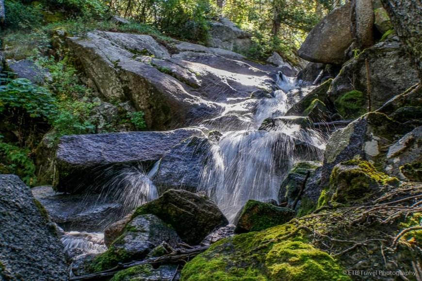 cascade in Bells Canyon