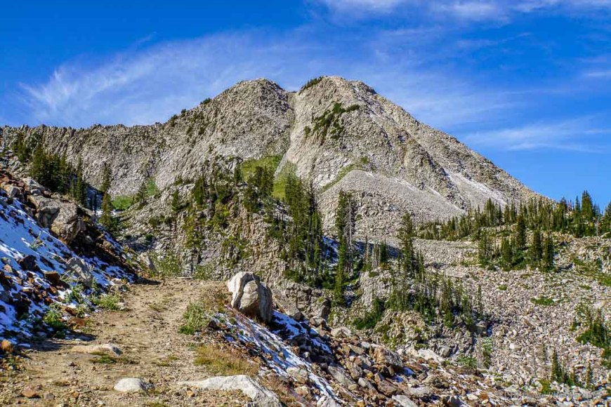 Talus field in Little Cottonwood Canyon
