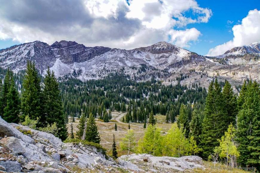 Sunset Peak Trail in Little Cottonwood Canyon