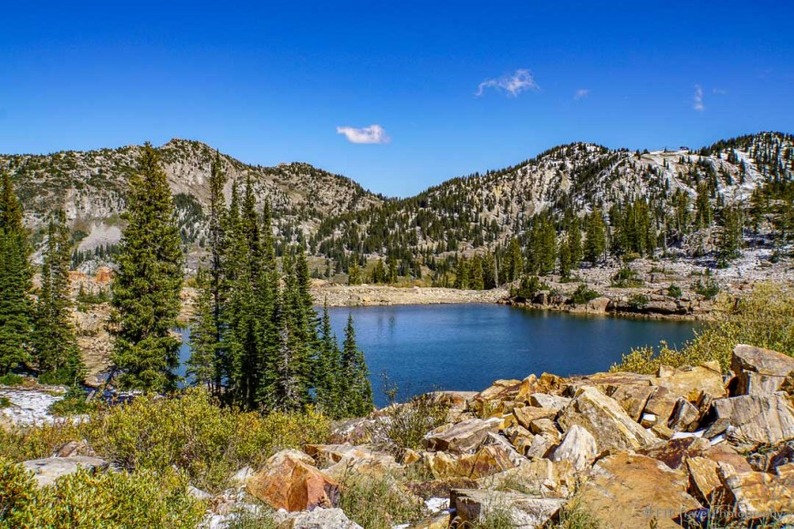 Cecret Lake in Little Cottonwood Canyon