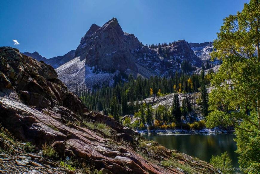 Lake Blanche in Big Cottonwood Canyon