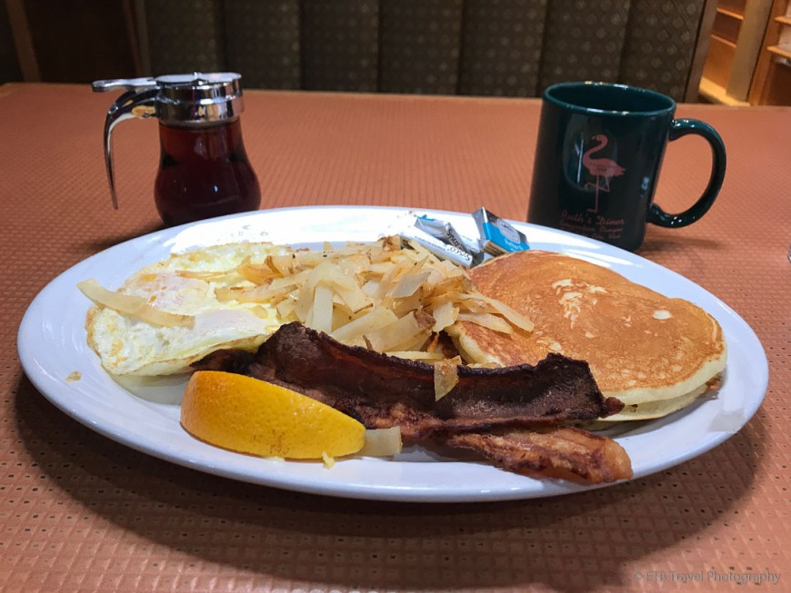 breakfast at Ruth's Diner