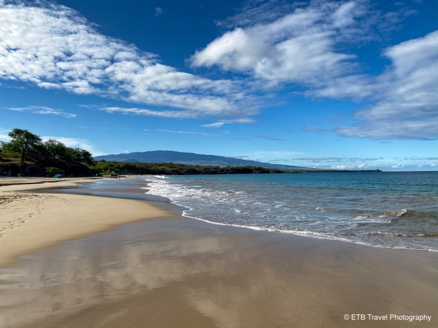 Hapuna Beach on the Kohala Coasr