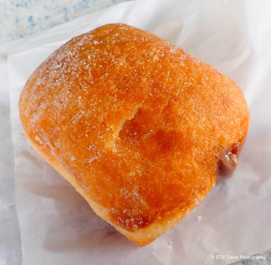 Chocolate filled malasada
