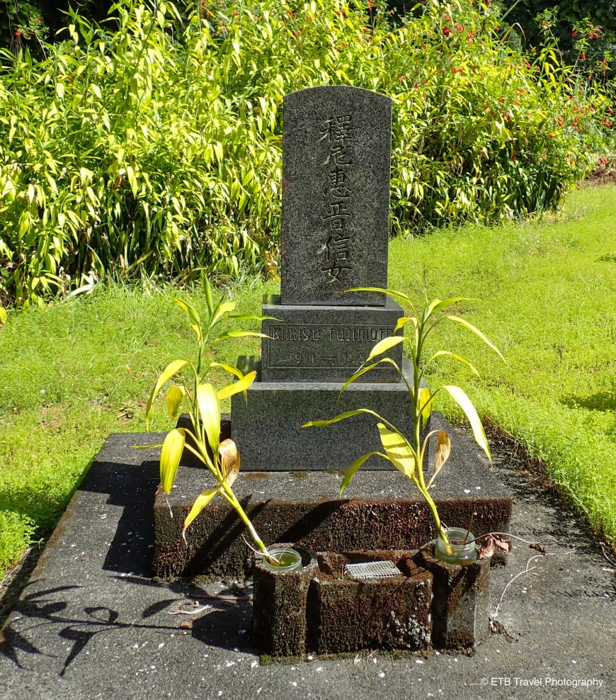 Cemetery on the Hamakua coast