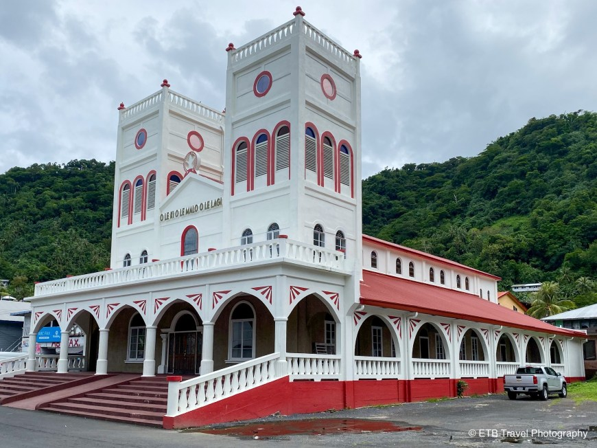 Church in Pago Pago American Samoa