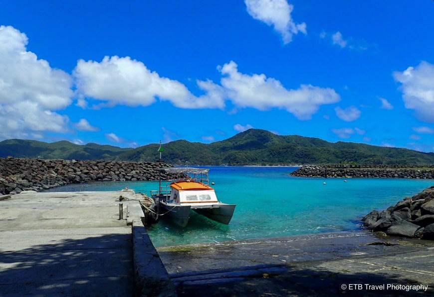 Ferry on Aunu'u Island