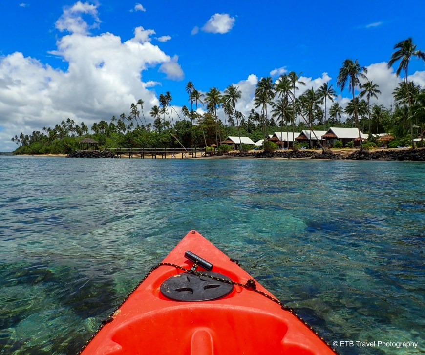Kayaking at saletoga sands resort