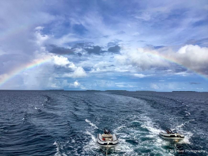rainbow in the solomons