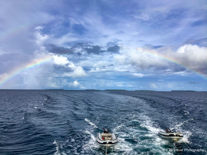 rainbow in the solomons