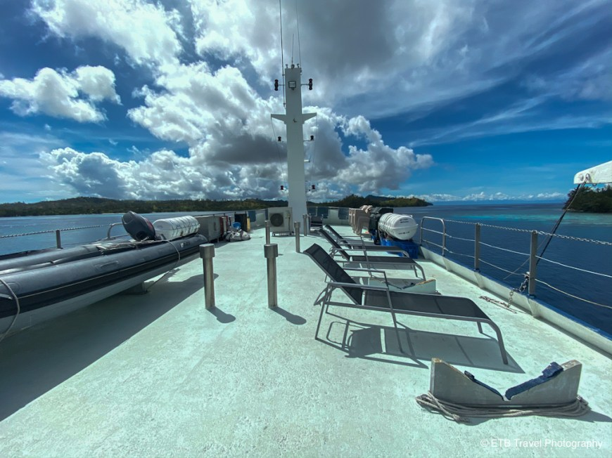 the sundeck on the taka