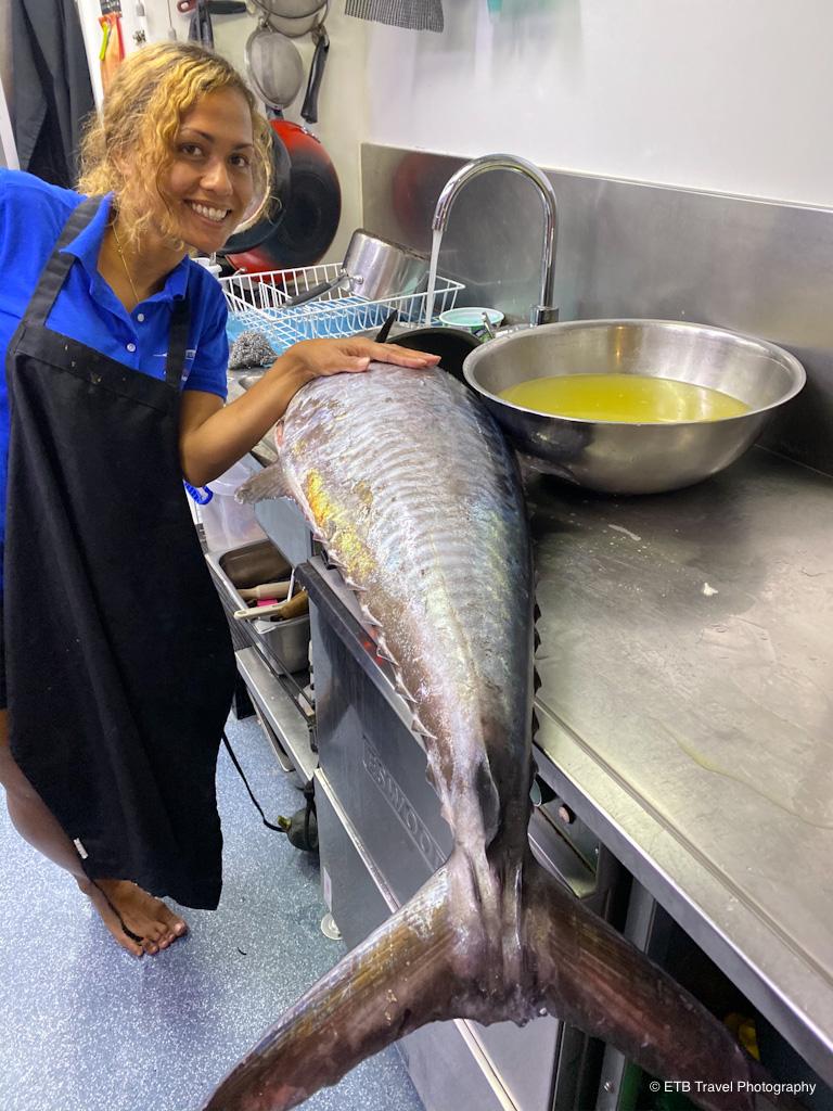 mackerel for dinner on the taka