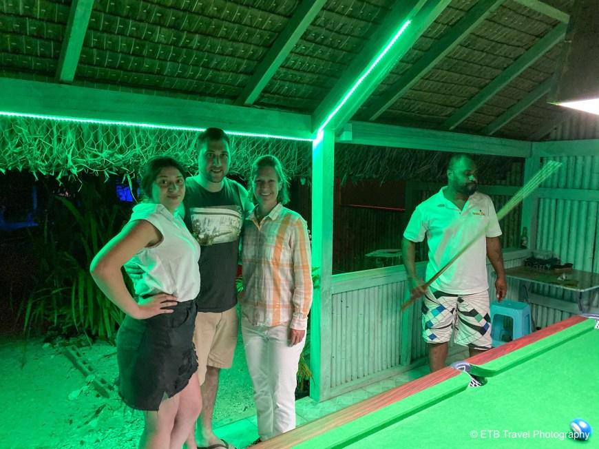 Vanessa, Dimitri, me and Chris