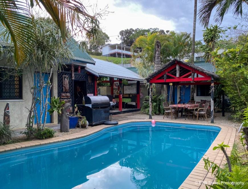 Travellers budget motel in vanuatu