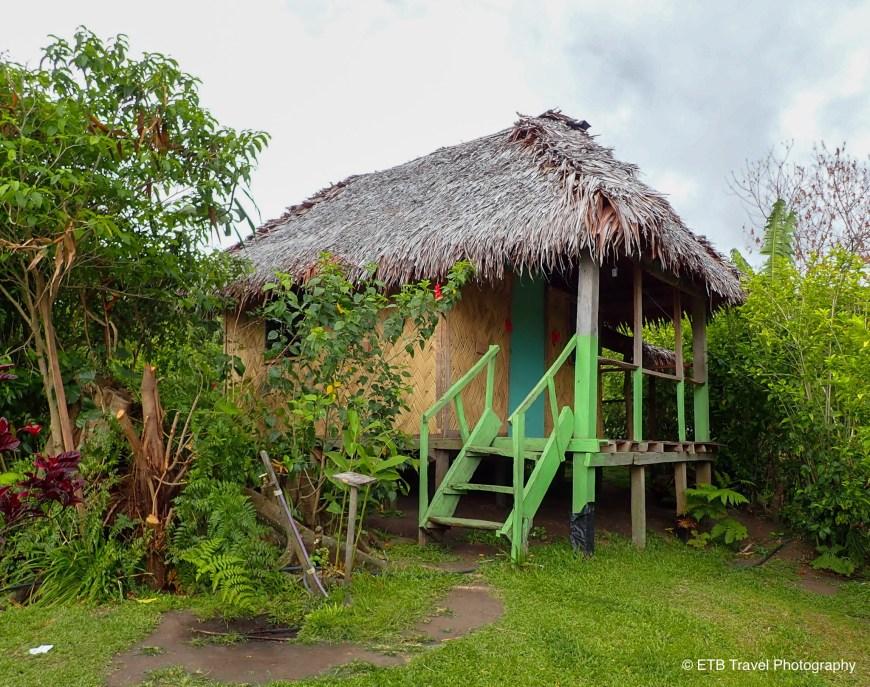 My hut in Tanna
