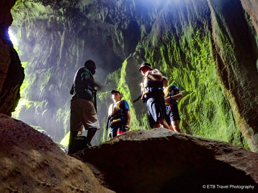 The Millenium cave in Santo