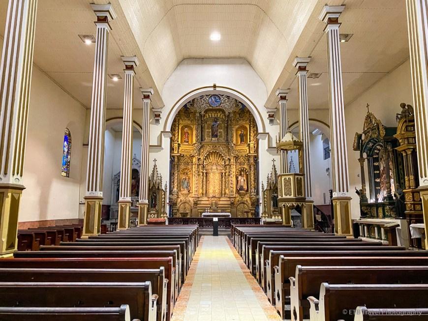 Iglesia de San José, one of five churches of casco viejo panama