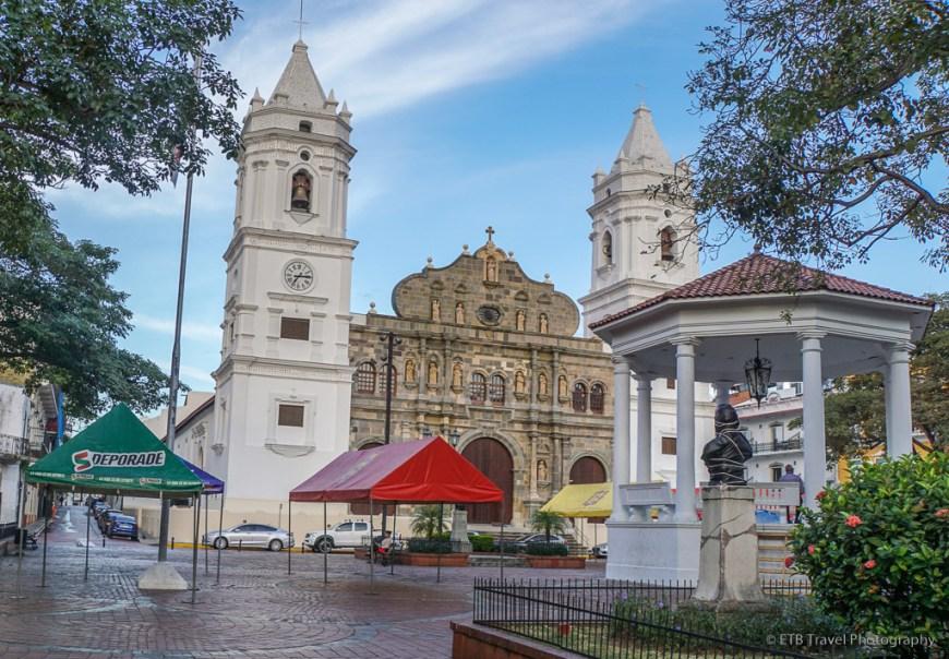 La Catedral Metropolitana, one of five churches of casco viejo panama