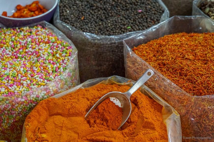 spices at nizwa souq