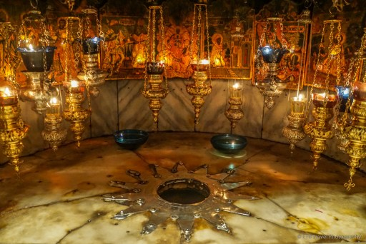 Jesus' birthplace in Bethlehem