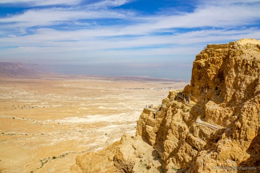 The North Castle at Masada National Park