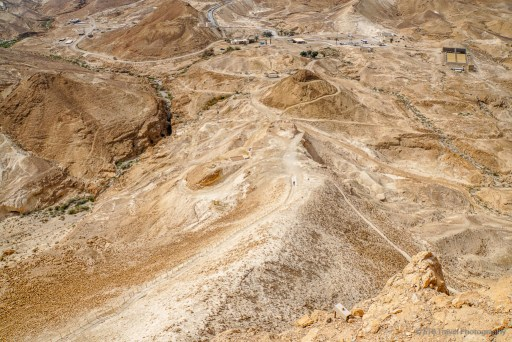 The Roman ramp at Masada National Park