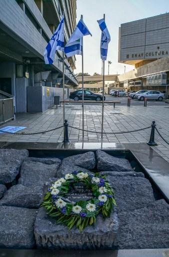 Rabin Memorial in Tel Aviv