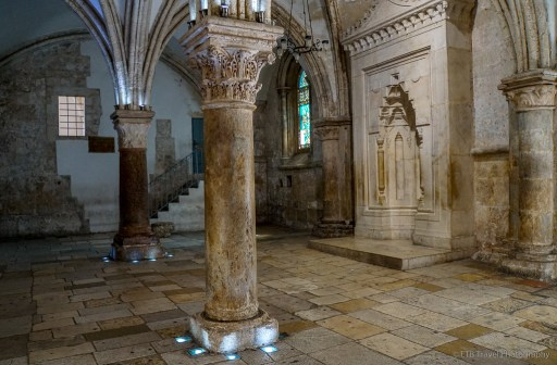 Hall of the last supper in Jerusalem