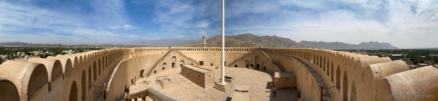 pano at nizwa fort