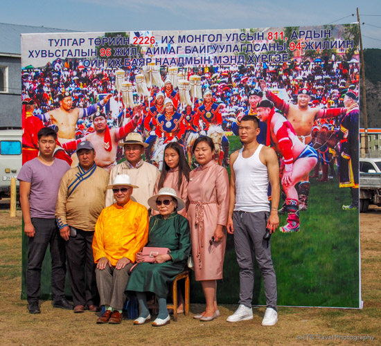 spectators at naadam