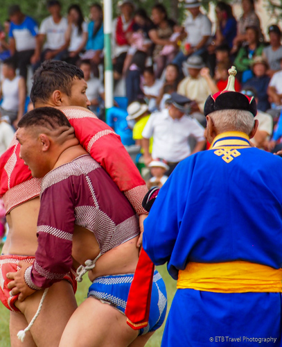 victory dance at naadam