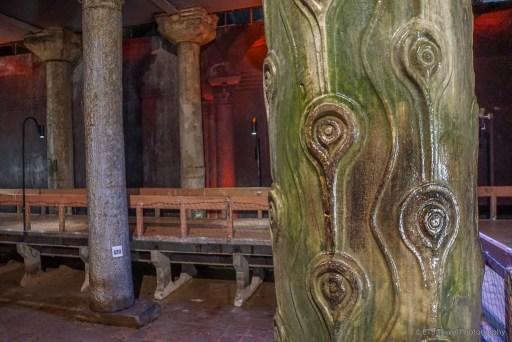 crying column in basilica cistern