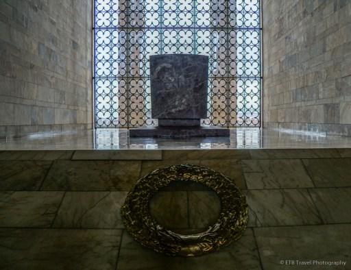 Ataturks tomb at Antikabir in Ankara