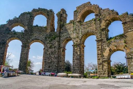 aqueduct in aspendos