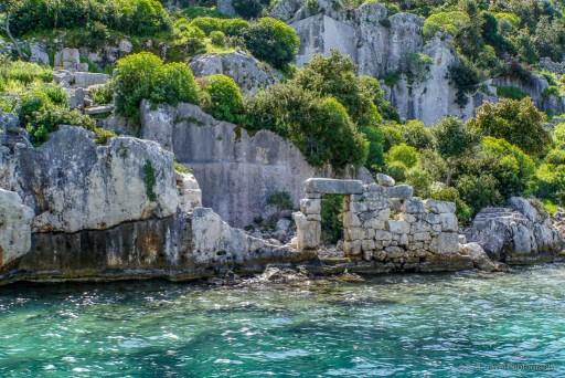 ruins at kekova island