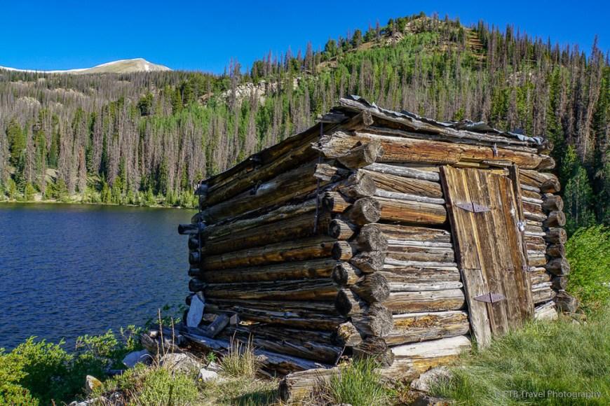 cabin at boss lake