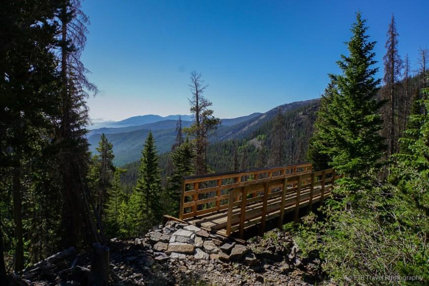 bridge on the way to hunt lake