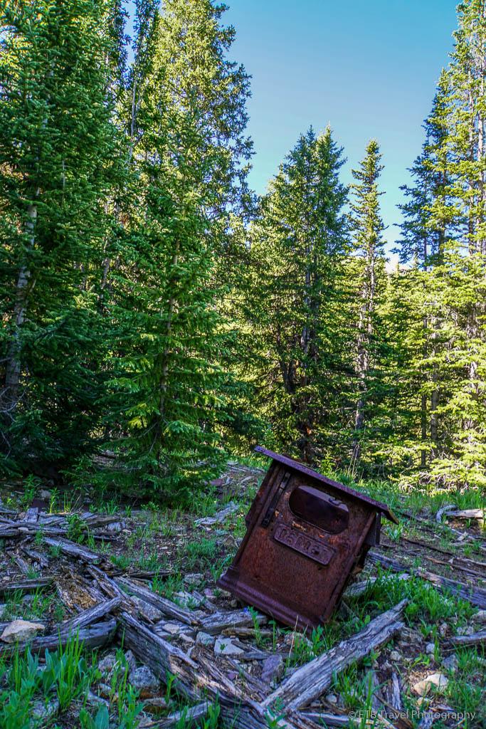 oven on Fredonia Gulch Trail