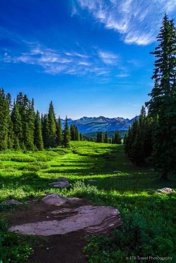 Shrine ridge trail