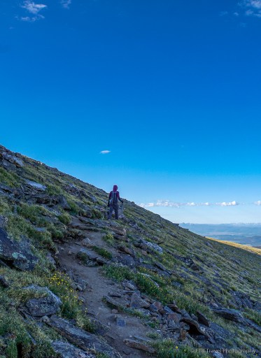 tina on mount ida trail