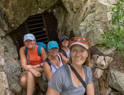 the girls on uranium mine trail